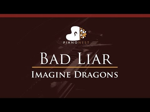Imagine Dragons - Bad Liar - HIGHER Key (Piano Karaoke / Sing Along)