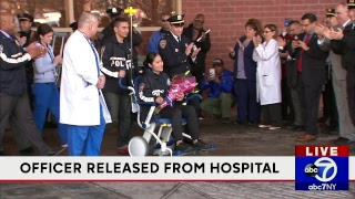 NYPD officer hurt in Bronx released from hospital