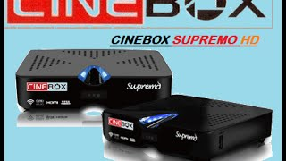 TUTORIAL - Configurar Cinebox SUPREMO  (IKS)
