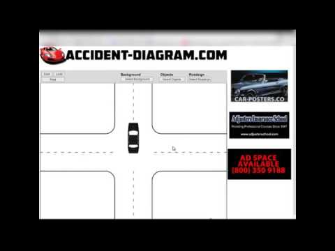 How to Draw Accident Diagram with AccidentDiagram Tutorial