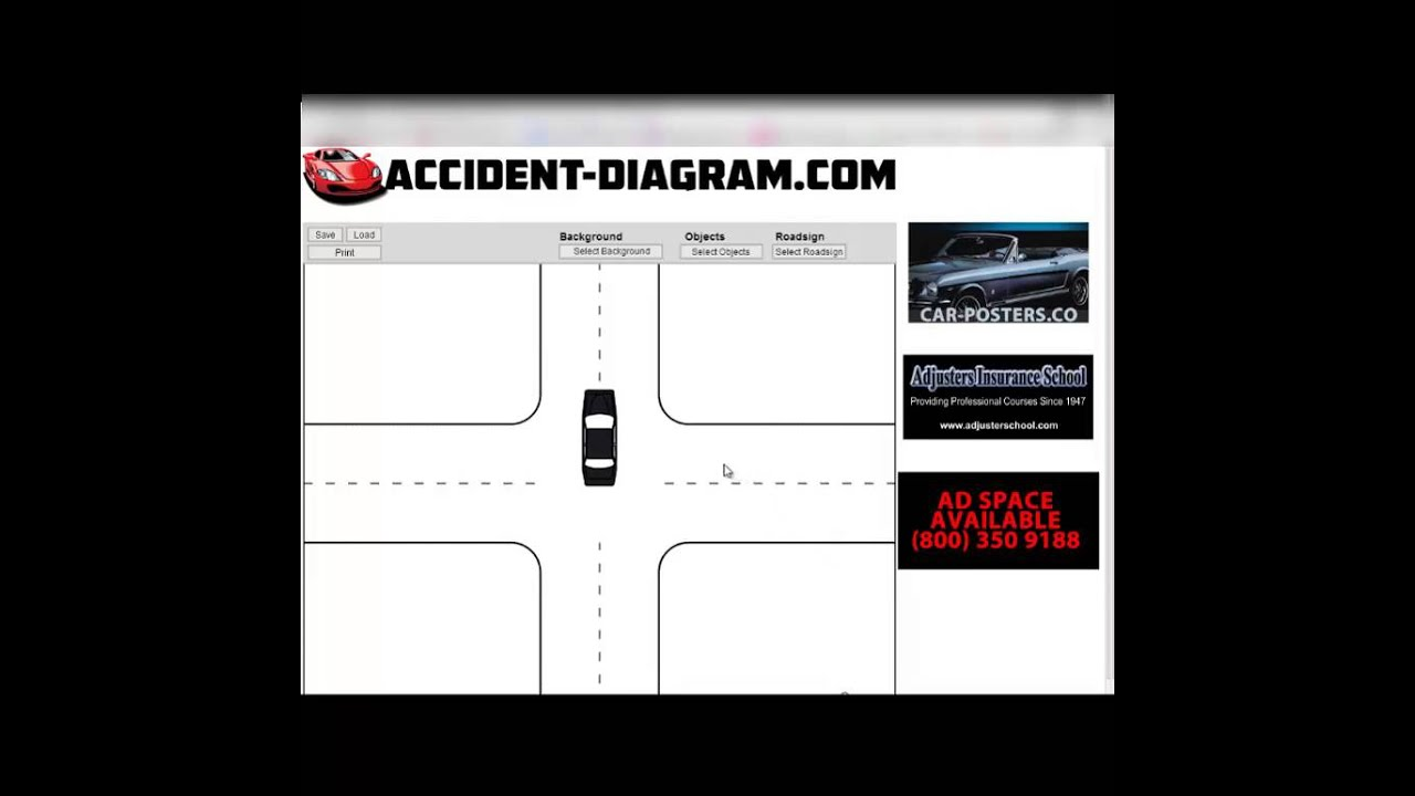 how to draw accident diagram with accidentdiagram tutorial [ 1280 x 720 Pixel ]