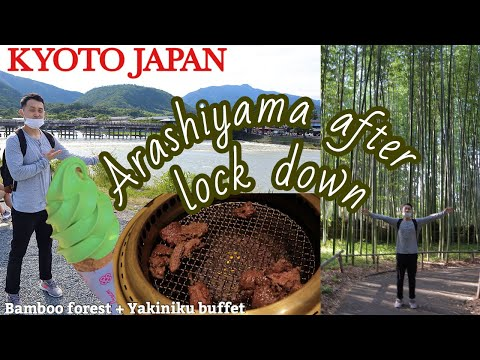 KYOTO, JAPAN | BEAUTIFUL DAY IN ARASHIYAMA,BAMBOO FOREST+YAK