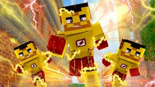 Minecraft: WHO'S YOUR FAMILY? - FAMÍLIA DO KID FLASH !!