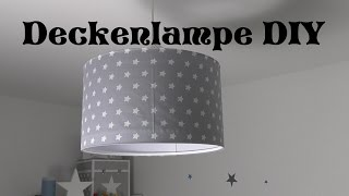 Kinderzimmer ❤ Deckenlampe selbst gestalten DIY ❤ Tutorial ❤ AnnCooki