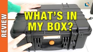 What's in My Box? Vanguard Supreme 40F Waterproof Hard Camera Case Review