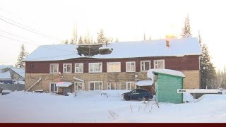 Крыша жилого дома рухнула под тяжестью снега в Ленске