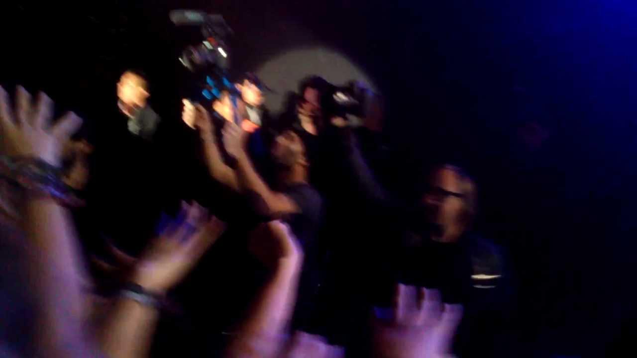 Saludando a Brandon Flowers (The Killers Battle Born World Tour 2013 Foro  Sol - Mexico Df )