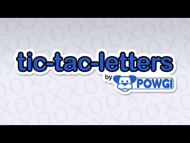 Tic-Tac-Letters By POWGI (PS4/PSVITA/PSTV/Switch) Platinum Trophy Guide/Required Solutions
