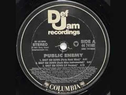 Public Enemy ft Pete Rock & Cl Smooth- Shut 'Em Down [Pete Rock Remix][*][Screwed& CHopped]]