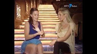 Beth Burrows TV interview on City 7 Dubai