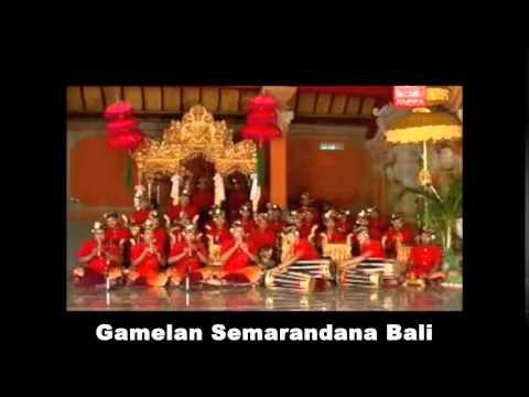 Gamelan Semarandana Bali   Sinom Ladrang