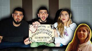 OUIJA BOARD IN HAUNTED HOUSE! *GHOST ACTIVITY ON CAMERA*
