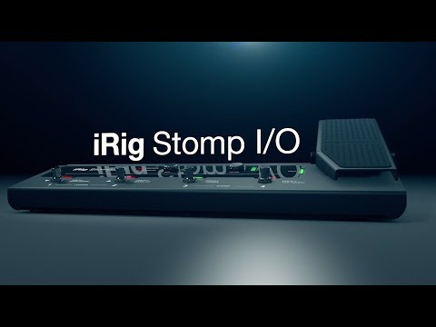 iRig Stomp I/O - Your ultimate tone control rig.  Ready to rock. Ready to record.