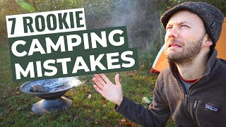 7 Mistakes While Tęnt Camping | For Beginners
