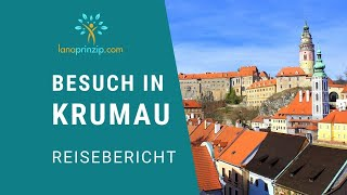 Lana auf Besuch in Krumau in Tschechien (Reisebericht) - Südböhmen und Böhmerwald