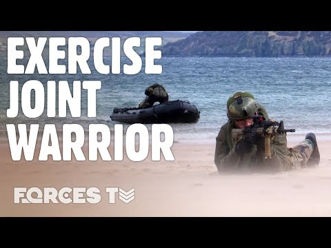 How Royal Marines Carry Out Raids With The Netherlands | Forces TV