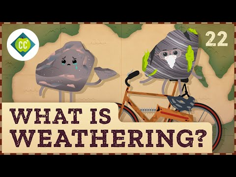 What is Weathering? Crash Course Geography #22
