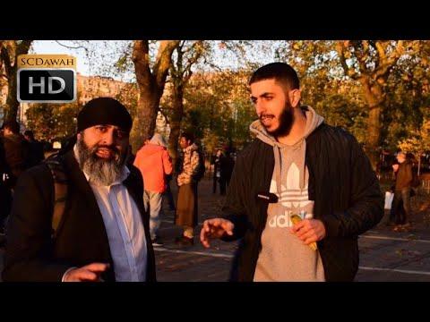 Sikh's Angered!! Ali Dawah & Sikh Visitors | Speakers Corner | Hyde Park