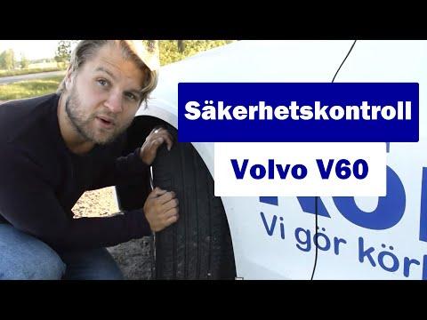 Säkerhetskontroll volvo V60