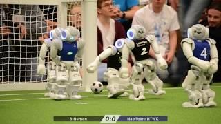 Highlights - Robocup 2018 SPL Finals: Nao-Team HTWK vs. B-Human