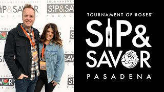 Tournament of Roses Sip & Savor Pasadena 2019 | Krysten's Kitchen