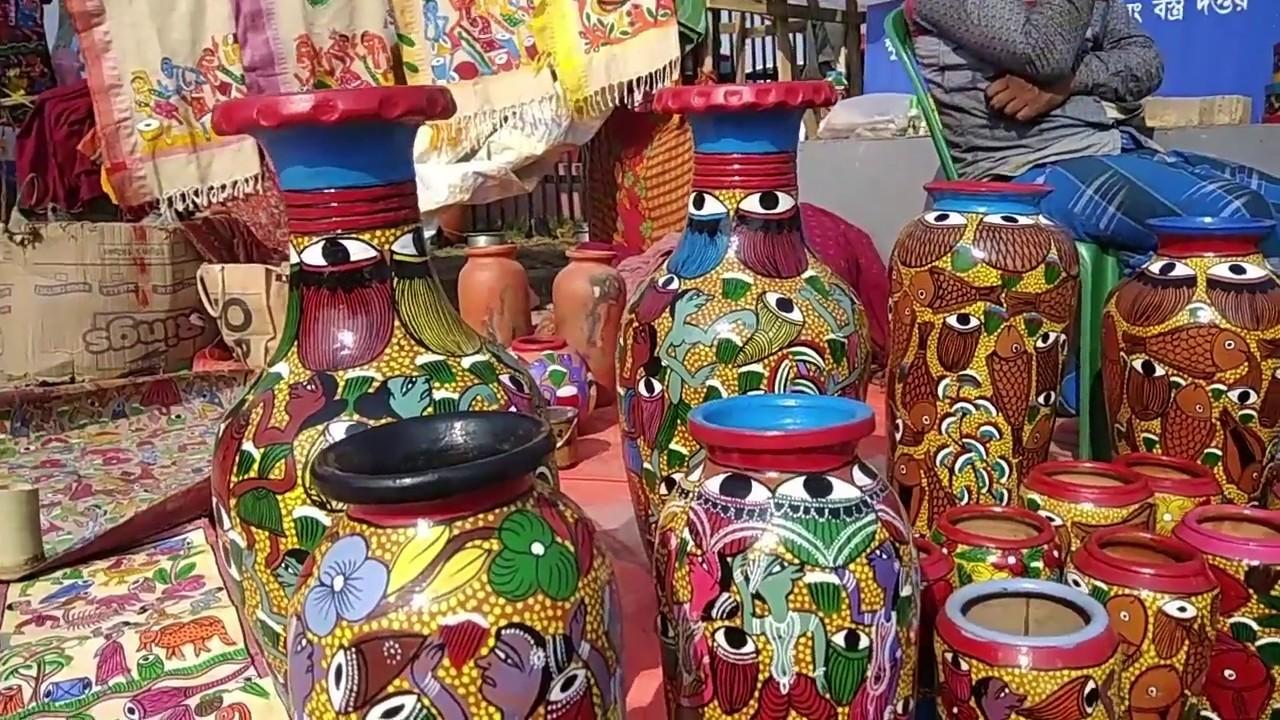Eco Park Hasta Shilpa Mela Kolkata Handicraft Fair Rajarhat Youtube