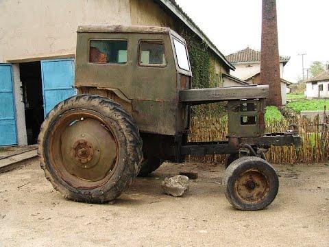 Трактора Ким Чен Ына.  Трактора в Северной Корее, наверное,  можно увидеть только на параде