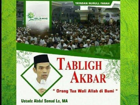 Orang Tua adalah Wali Allah di Bumi (Tabligh Akbar FIS) ; Ustadz Abdul Somad Lc., MA.