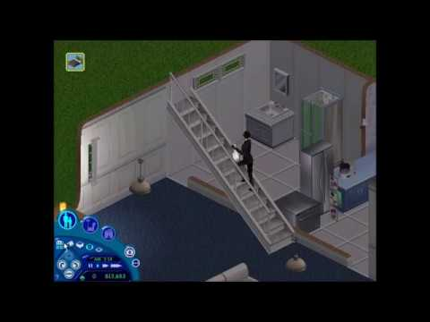 The Sims 1 - Burglar Escapes