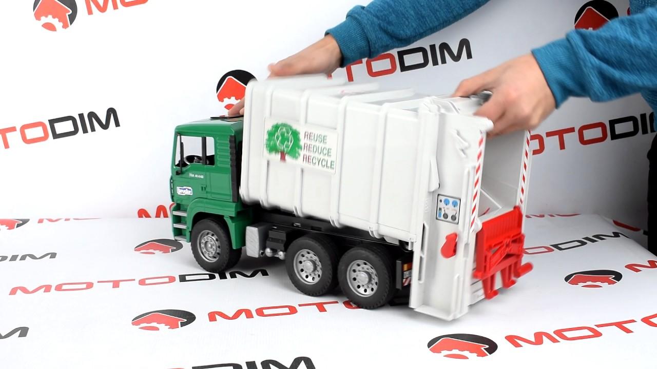 Машинка бетоносмеситель Scania R Bruder 03554 - YouTube