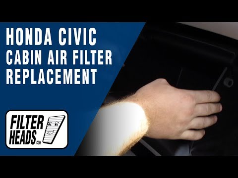 How to Change a Pollen Filter 2013 Honda Civic
