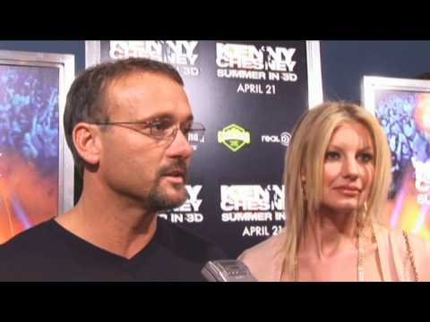 Kenny Chesney Summer in 3D - Red Carpet interviews