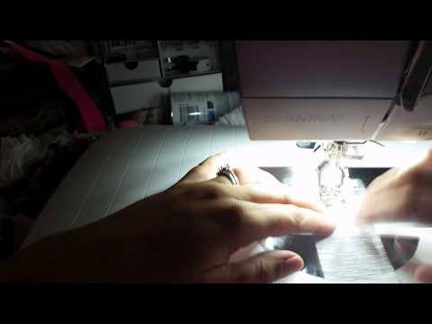 How to Ruffle Crepe Paper on the Sewing Machine