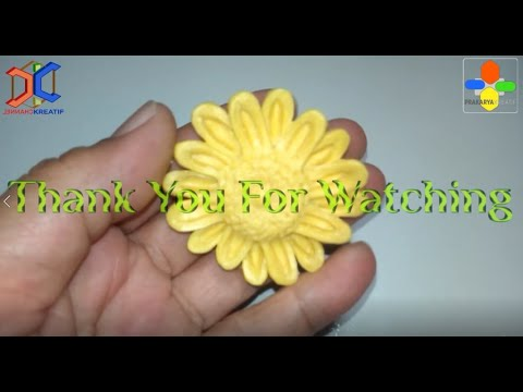 Cara Membuat Prakarya Ukiran Sabun Bunga Matahari | DIY Sunflower Soap Carving | No Colouring