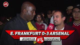E. Frankfurt 0-3 Arsenal | Start Chambers At Right Back Vs Villa!