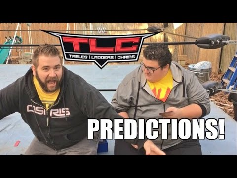 WWE TLC PPV PREDICTIONS FROM FUNNY FAT GUYS! PRO WRESTLING CRATE UNBOXING!