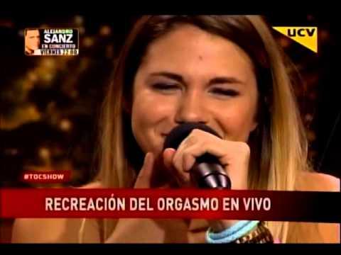 Laura Prieto recrea un orgasmo