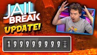 Zählen zu ROBLOX JAILBREAK 2 Milliarden Besuche Update 🌋 Vulkanausbruch SOON!