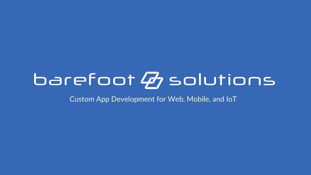 Mobile App Prototyping / Web App Prototyping - Barefoot Solutions HD