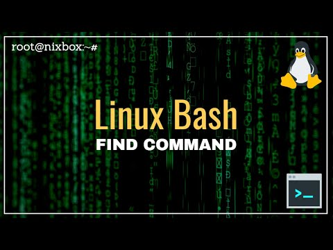 How To Use Find Command In Linux Bash 15 Examples Youtube