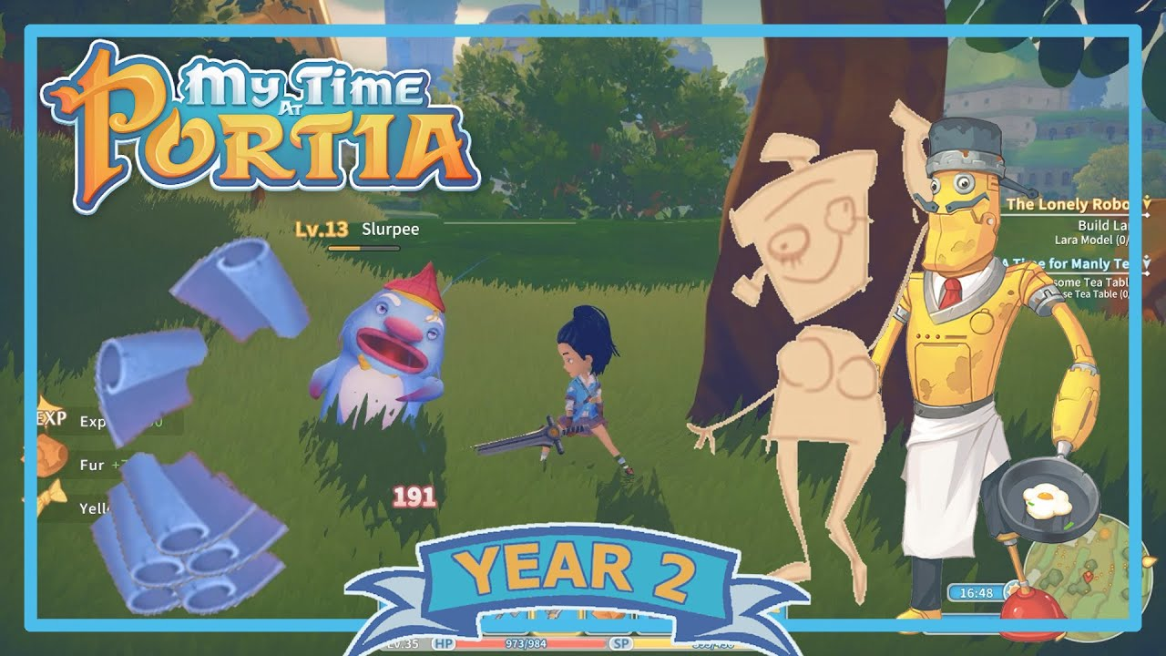 blue leather for lara my time at portia year 2 episode 14