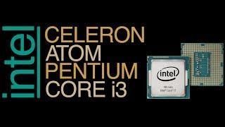 Intel Celeron 540 vs Atom N280 vs Pentium B960 vs Core i3 6100 (Сравнение в бенчмарках)