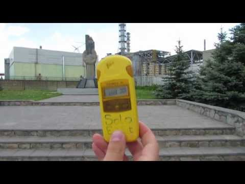 03. Measuring Gamma and Beta Radiation near Chernobyl Nuclear Power Station
