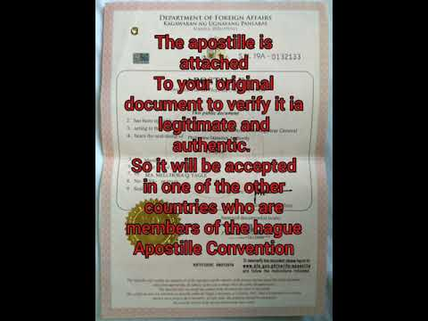 How To Get An Apostille In DFA Philippines