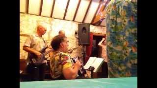 The Bang On The Wall Band at Rivendale Caravan Site