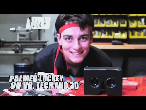Oculus VR - Interview with Palmer Luckey - An Introduction to Oculus