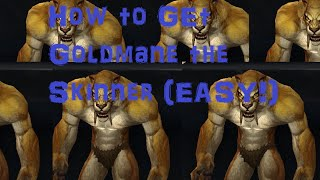 Warlords of Draenor Follower: Goldmane The Skinner (easy to get)
