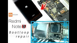Xiaomi Redmi Note 3 Bootloop after water damage Repair Tutorial / ремонт затопленного телефона