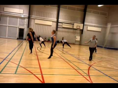 Hvidovre Rødovre senior damer rytme træning 3. Jan