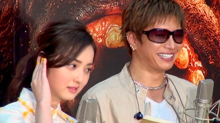 佐々木希、初共演のGACKTは「オーラがピカピカピカッ!」
